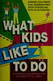 Cover of: What kids like to do |