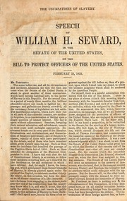 Cover of: The usurpations of slavery | William Henry Seward
