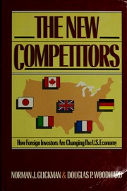 Cover of: The new competitors by Norman J. Glickman