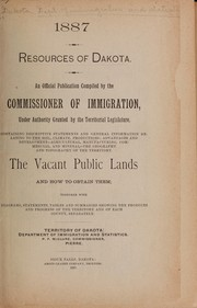 Cover of: Resources of Dakota by Dakota Territory. Dept. of Immigration and Statistics.