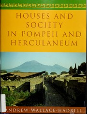 Cover of: Houses and Society in Pompeii and Herculaneum by Andrew Wallace-Hadrill