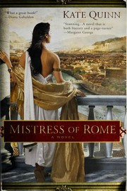 Cover of: Mistress of Rome | Kate Quinn