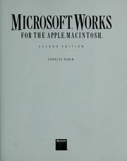Cover of: Microsoft Works for the Apple Macintosh by Charles Rubin