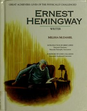Cover of: Ernest Hemingway by Melissa McDaniel