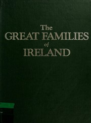 Cover of: The Great families of Ireland by