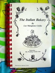 Cover of: The Italian bakery by Lee Mangione Cirillo