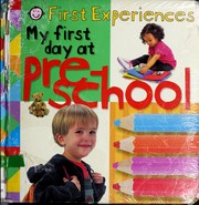 My first day at pre-school
