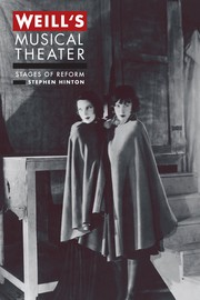 Cover of: Weill's musical theater by Stephen Hinton