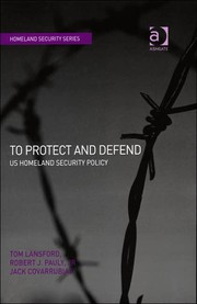 Cover of: To Protect and Defend by Tom Lansford