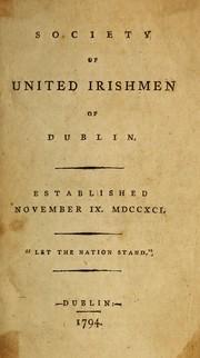 Society of United Irishmen of Dublin