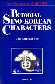 Cover of: Pictorial Sino-Korean characters by Jacob Chang-ui Kim