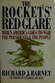 Cover of: The rockets' red glare | Richard J. Barnet
