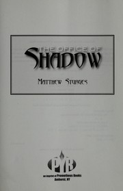 Cover of: The office of shadow | Matthew Sturges