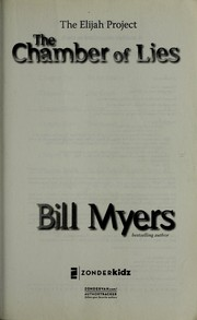 Cover of: Chamber of lies by Bill Myers