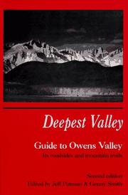 Cover of: Deepest Valley by Richard E. Macmillen