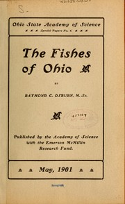 Cover of: The fishes of Ohio by Raymond C. Osburn