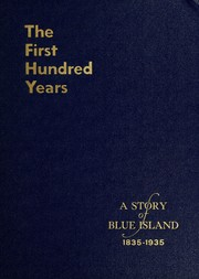 Cover of: The first hundred years, 1835-1935 | John H. Volp