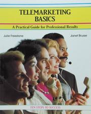 Cover of: Telemarketing basics by Julie Freestone
