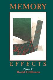 Cover of: Memory Effects by Roald Hoffmann