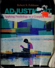 Cover of: Adjustment | Robert S. Feldman