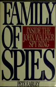 Cover of: Family of spies | Pete Earley