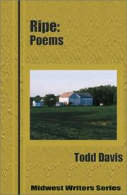 Cover of: Ripe by Todd Davis