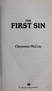 Cover of: The first sin | Cheyenne McCray