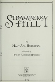 Cover of: Strawberry Hill | Mary Ann Hoberman
