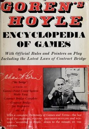 Cover of: Goren's Hoyle encyclopedia of games by Charles Henry Goren
