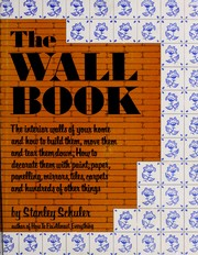 Cover of: The wall book by Stanley Schuler
