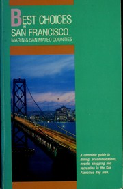 Cover of: You are cordially invited to the best choices in San Francisco by Myles Montgomery