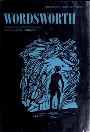 Cover of: Wordsworth |