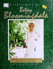 Cover of: Entertaining with Betsy Bloomingdale by Betsy Bloomingdale