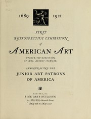 Cover of: 1689-1921 | Art Patrons of America, inc