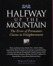 Cover of: Halfway Up the Mountain | Mariana Caplan