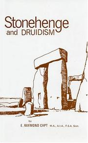 Cover of: Stonehenge and Druidism by E. Raymond Capt