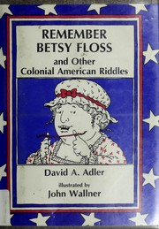 Cover of: Remember Betsy Floss by David A. Adler