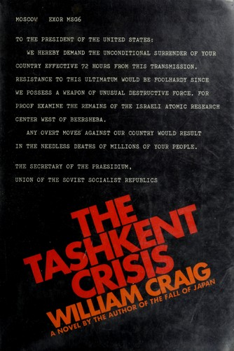 The Tashkent crisis by Craig, William