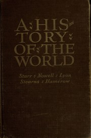 Cover of: A History of the world by