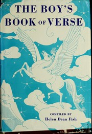 Cover of: The boy's book of verse | Helen Dean Fish, Helen Dean Fish