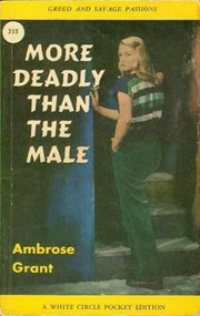 Cover of: More deadly than the male | James Hadley Chase