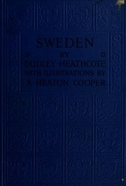 Cover of: Sweden |