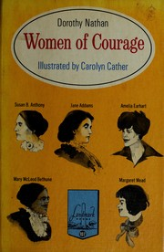 Cover of: Women of courage by