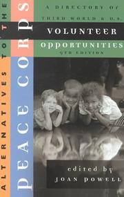 Cover of: Alternatives to the Peace Corps | Joan Powell