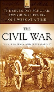 Cover of: The Civil War | Dennis Gaffney