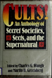 Cover of: Cults by Martin H. Greenberg