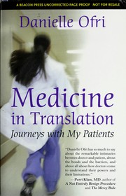 Cover of: Medicine in translation | Danielle Ofri
