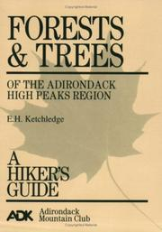 Cover of: Forests and trees of the Adirondack high peaks region | Edwin H. Ketchledge