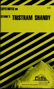 Cover of: Tristram Shandy notes |