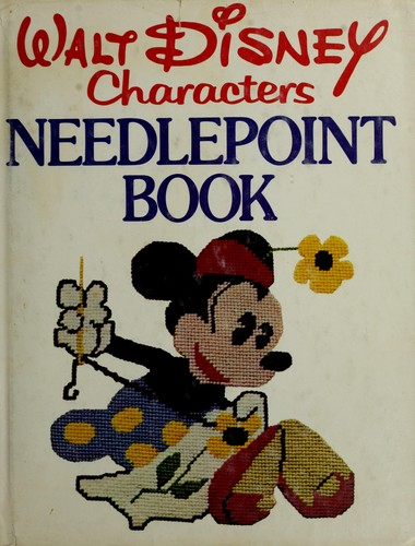 Walt Disney characters needlepoint book by Lisbeth Perrone